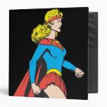 Supergirl Profile Vinyl Binder