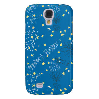 Supergirl Protect Nature Pattern Galaxy S4 Cover