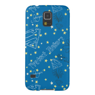 Supergirl Protect Nature Pattern Galaxy S5 Case