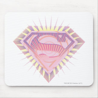 Supergirl Rad Logo Mouse Pad