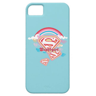 Supergirl Rainbow 2 iPhone SE/5/5s Case