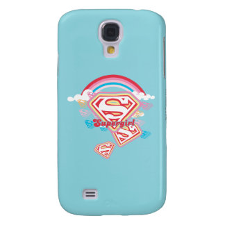 Supergirl Rainbow 2 Samsung Galaxy S4 Cover
