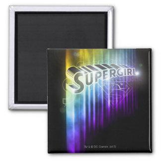 Supergirl Rainbow Magnet