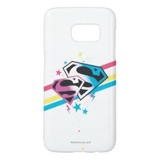 Supergirl Rainbow Stripes Samsung Galaxy S7 Case