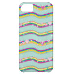 Supergirl Rainbow Waves Green iPhone 5C Cases