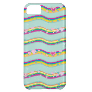 Supergirl Rainbow Waves Green iPhone 5C Covers