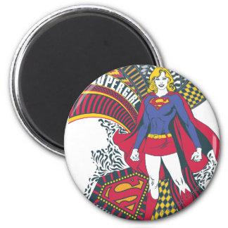 Supergirl Random World 1 2 Inch Round Magnet