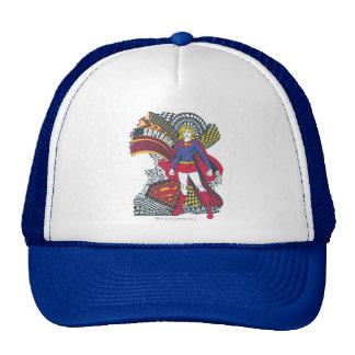 Supergirl Random World 1 Mesh Hats