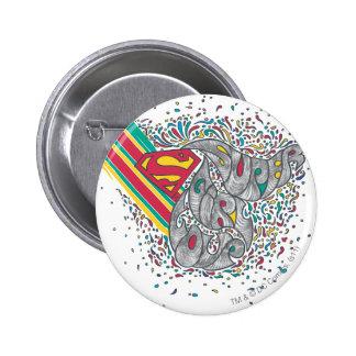 Supergirl Random World 2 Pinback Button