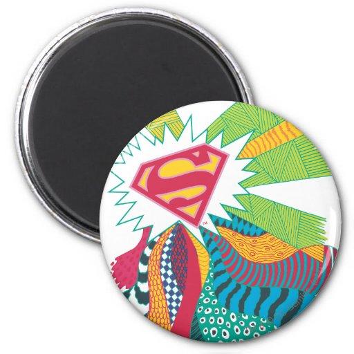 Supergirl Random World 3 Refrigerator Magnet