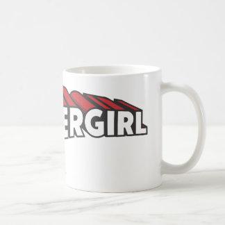 Supergirl Red and White Logo Coffee Mug