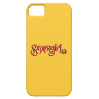 Supergirl Red Logo iPhone 5 Cover