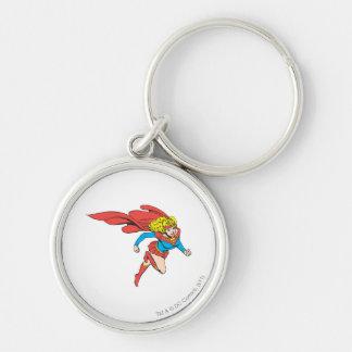 Supergirl salta a la derecha llaveros