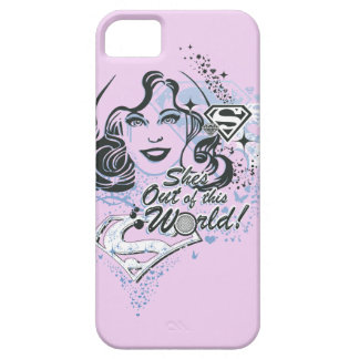Supergirl She's Out of this World! iPhone 5 Cover