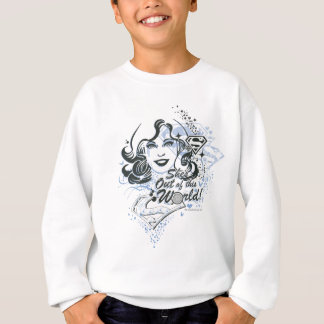 Supergirl She's Out of this World! Sweatshirt