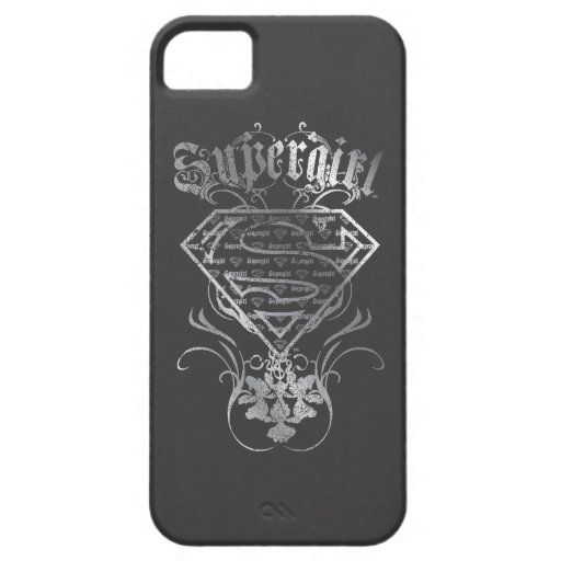 Supergirl Silver Logo iPhone SE/5/5s Case
