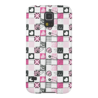 Supergirl Skulls and Pins Pattern Galaxy S5 Cover