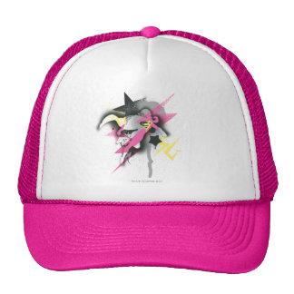 Supergirl Spray Paint Mesh Hats