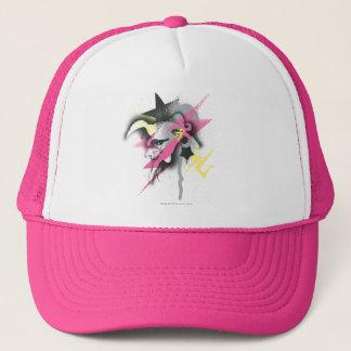 Supergirl Spray Paint Trucker Hat