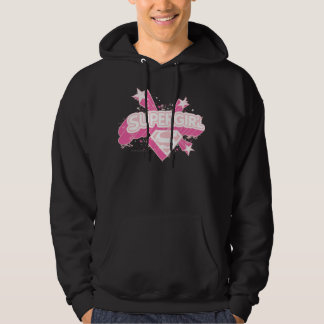 Supergirl Stars and Logo Hoodie