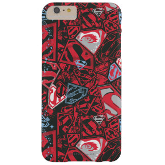 Supergirl Stary Red Pattern Barely There iPhone 6 Plus Case