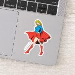 Supergirl Strikes a Pose Sticker