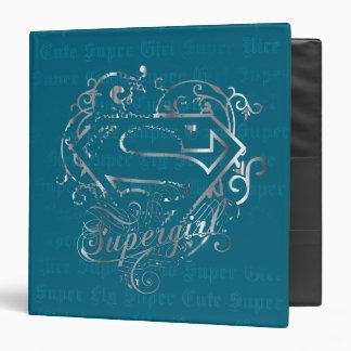 Supergirl Super Fly Super Cute Binder