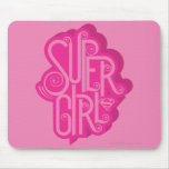 Supergirl Swirl 2 Mouse Pad