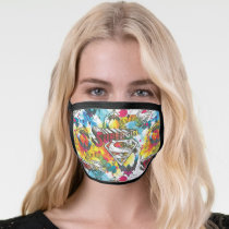 Supergirl The Lux Pattern Face Mask