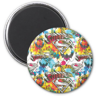 Supergirl The Lux Pattern Magnet