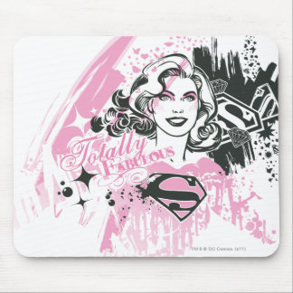 Supergirl Totally Fabulous Mouse Pad