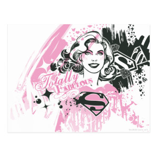 Supergirl Totally Fabulous Postcard