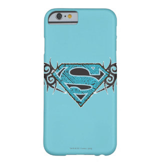 Supergirl Tribal Pattern Logo Barely There iPhone 6 Case