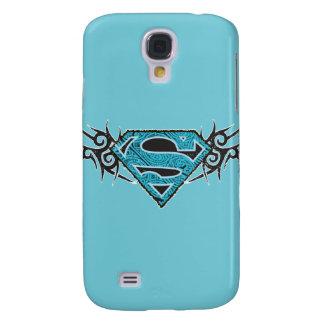 Supergirl Tribal Pattern Logo Samsung Galaxy S4 Cases