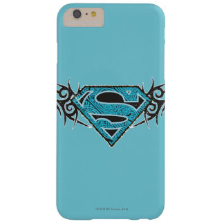 Supergirl Tribal Pattern Logo Barely There iPhone 6 Plus Case