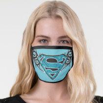 Supergirl Tribal Pattern Logo Face Mask