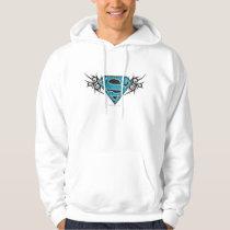 Supergirl Tribal Pattern Logo Hoodie