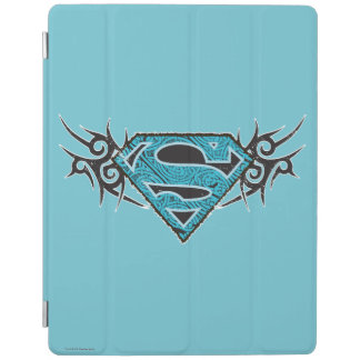 Supergirl Tribal Pattern Logo iPad Cover