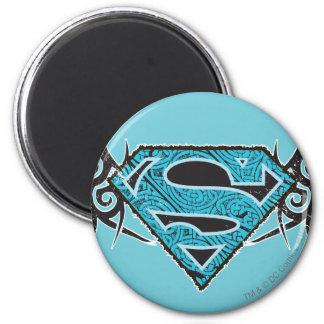Supergirl Tribal Pattern Logo Refrigerator Magnets