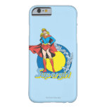Supergirl with Logo Barely There iPhone 6 Case