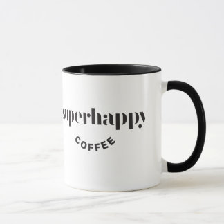 superhappy coffee mug black