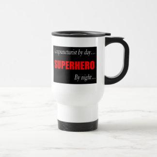 Superhero Acupuncturist Travel Mug