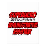 Superhero...Administrative Assistant Post Cards