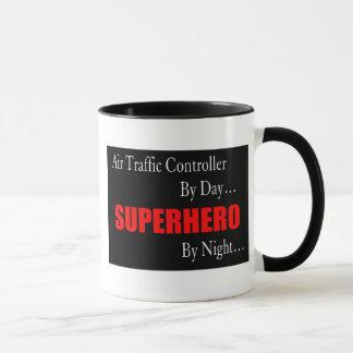 Superhero Air Traffic Controller Mug