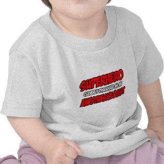 Superhero Anesthesiologist Shirts