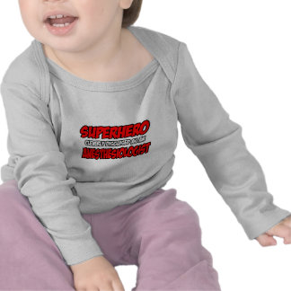 Superhero Anesthesiologist Tee Shirts