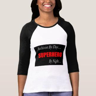 Superhero Archivist Shirts