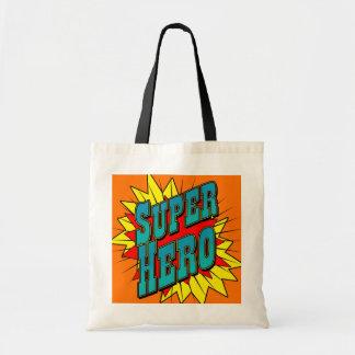 SuperHero Canvas Bag