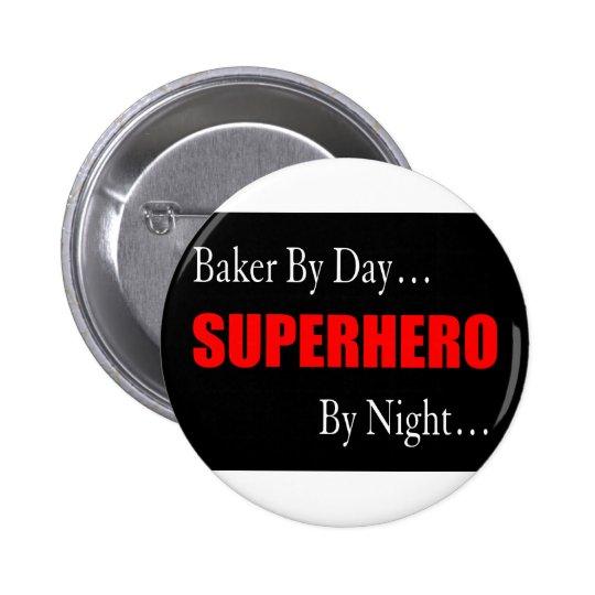 Superhero Bakers Button