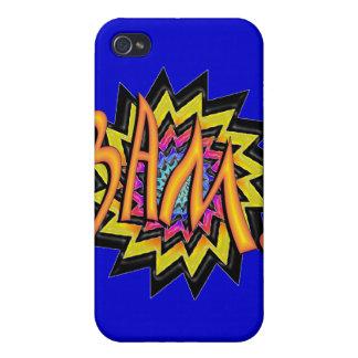 Superhero BAM iPhone 4 Cover